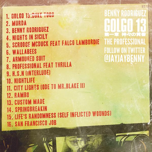 "MUSIC: ""GOLGO 13 THE PROFESSIONAL"""
